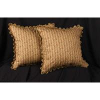 Enchanting Amy Karyn Floral - Brunschwig and Fils Velvet Throw Pillows