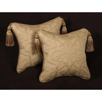 Beacon Hill Matelasse - Pindler Velvet Decorative Throw Pillows