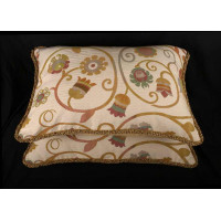 Clarence House Jacobean Brocade | 13 x 21 Decorative Pillows