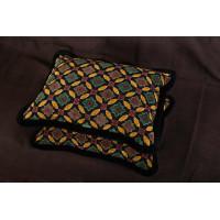 Clarence House Cut Velvet - Brunschwig and Fils Decorative Pillows