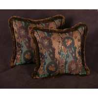Clarence House Lampas - Lee Jofa Velvet Designer Decorative Pillows