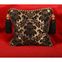 Fortuny Style Embossed Velvet - Kravet Elegant Decorative Pillows