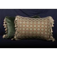 Designer Chenille and Brunschwig and Fils Velvet Designer Pillows