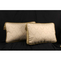 Kravet Brocade and Chenille Decorative Designer Box Pillows