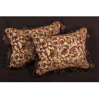 Kravet Couture Brocade - Old World Weavers Velvet Pillows