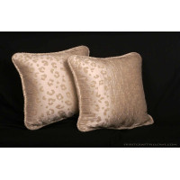 Kravet Couture Leopard Mohair and Silk - Elegant Corded Pillows