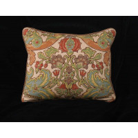Kravet Design Hand Print - Clarence House Velvet Pillow