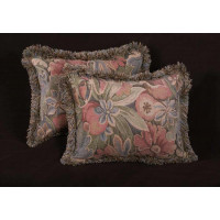 Lee Jofa Chinon French Tapestry Fabric - Elegant Designer Pillows