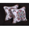 Lee Jofa Gumla Crewel - Elegant Decorative Accent Pillows