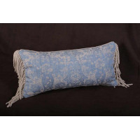 Lee Jofa Ossford Weave Damask  - Single Decorative Accent Pillow