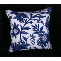 Lee Jofa Hand Woven Sohil Crewel - Single Showpiece Pillow
