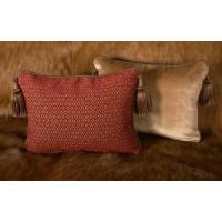Old World Weavers Diamond Chenille - Lee Jofa Velvet Pillows