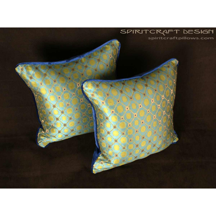 Silk Modern Decorative Pillows Old World Weavers Donghia Mesmerizing Italian Decorative Pillows