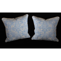 Lee Jofa Ossford Weave -  Two 20 Inch Decorative Pillows