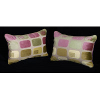 Lee Jofa Modern Cut Velvet - Kravet Velvet Decorative Pillow Set