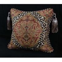 Leopardo Damask Brocade - Italian Velvet - Single Accent Pillow