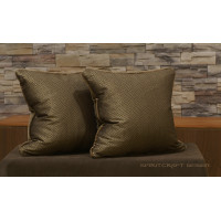 Kravet animal pattern brocade handcrafted accent pillows