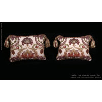 Pindler Washed Brocade - Old World Weavers Velvet Designer Pillows