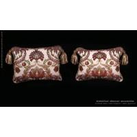 Pindler Washed Brocade - Old World Weavers Velvet Designer Pillows