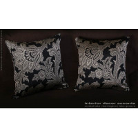 Schumacher Silk Paisley - Lee Jofa Velvet Elegant Pillows