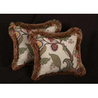 Kravet Design Jacobean - Pierre Frey Italian Velvet Designer Pillows