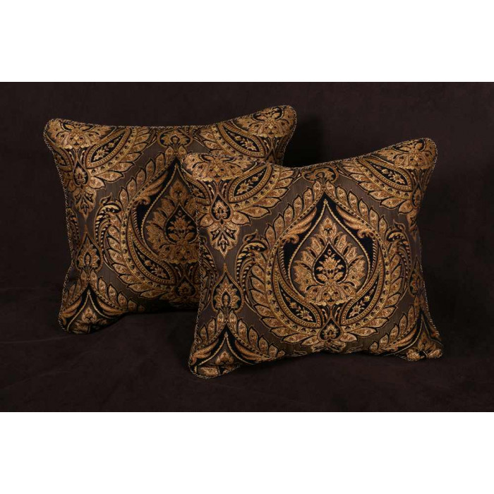 throw gold silk iop handmade melodrama pillow art modern covers sequins square accent cover decorative geometric pillows cx
