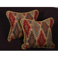 Kravet Design Tapestry with Pierre Frey Velvet - Decorative Pillows