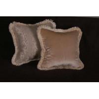 Kravet Couture Mohair Leopard Silk Fabric - Lee Jofa Velvet Single Pillow