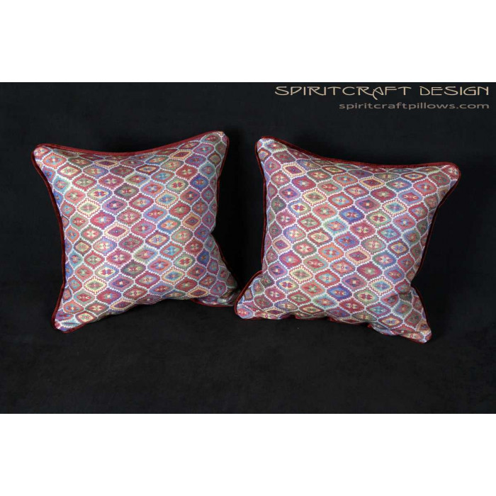 Southwestern Accent Pillows : Kravet Couture Southwestern Woven - Custom Accent Pillows