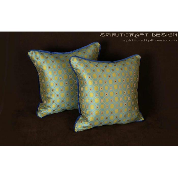 Silk Modern Decorative Pillows Old World Weavers - Donghia