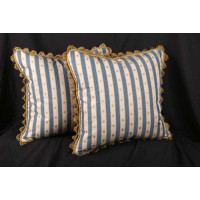 Scalamandre Brocade - S. Harris Velvet Decorative Pillows