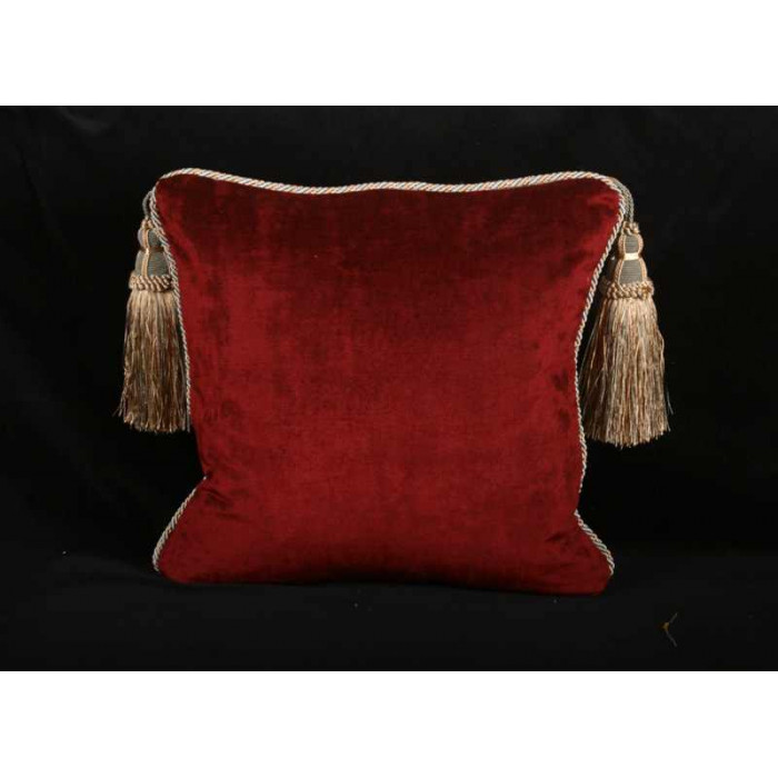 Excellent Silk Lampas with Old World Weavers Velvet - Elegant Pillows BL83