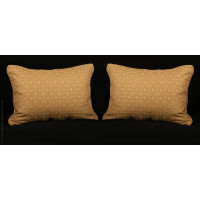 Stroheim Brocade - Brunschwig Velvet Designer Pillows