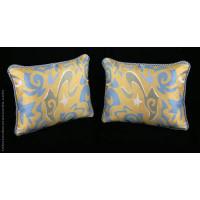Stroheim Modern Weave - Kravet Italian Velvet Designer Pillows