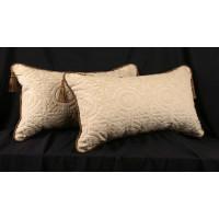 Pindler Cut Velvet - Clarence House Velvet Designer Pillows