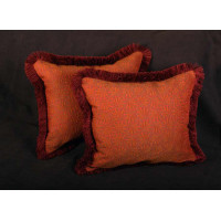 Pollack Swiss Jacquard Fabric - Clarence House Velvet Pillows