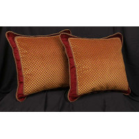 Scalamandre Velvet - Old World Weavers Elegant Accent Pillows