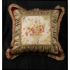 Scalamandre Tapestry and Velvet - Stunning Single Designer Pillow