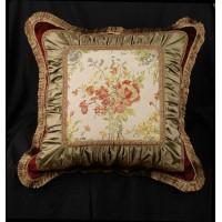 Scalamandre Tapestry and Velvet - Stunning Single Designer Pillow