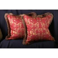 Scalamandre Italian Brocade - Old World Weavers Velvet Pillows