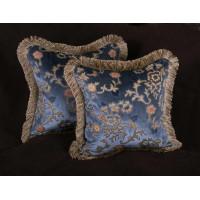 Scalamandre Sculpted Silk Velvet - Pierre Frey Elegant Pillows