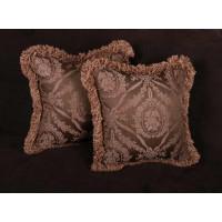 Scalamandre Silk Jacquard - Lee Jofa Velvet Designer Pillows