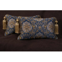 Schumacher Italian Tapestry - Lee Jofa Velvet Designer Pillows
