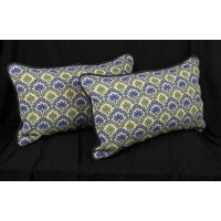 Schumacher Velvet Epingle - Lee Jofa Velvet Decorative Pillows