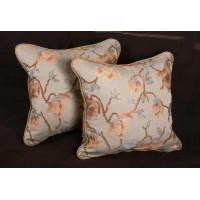 Travers Jacobean Brocade - Kravet Velvet -  Elegant Decorative Pillows