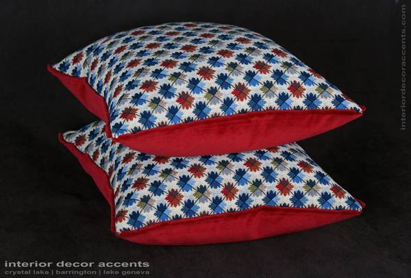Stunning and timeless brunschwig and fils oatlands german made epingle decorative designer pillows with scalamandre backing velvet for contemporary, transitional and traditional interior design and elegant home decor accents