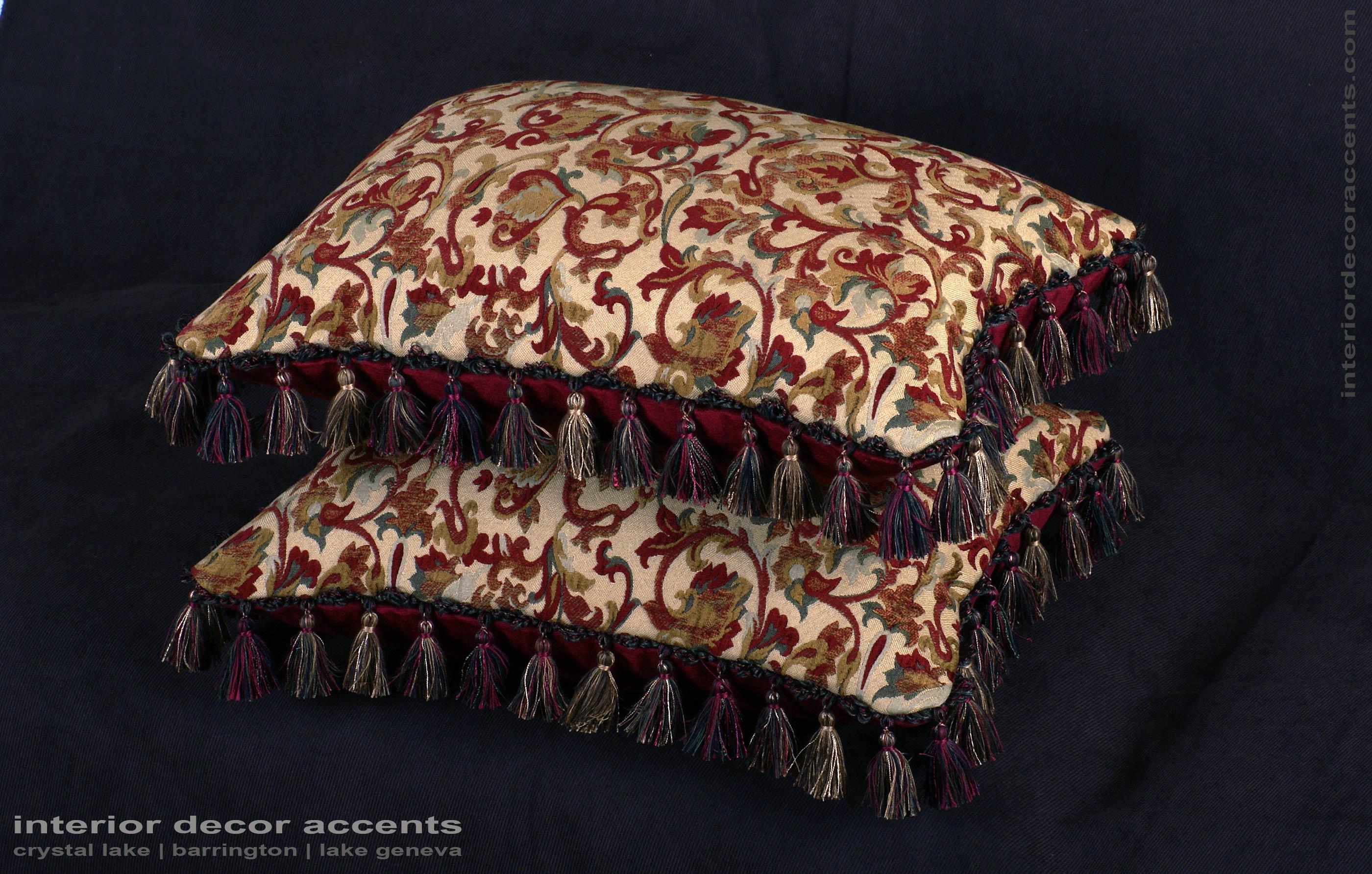 Brocade Home Decor Decoration kravet couture brocade  old world weavers velvet pillows