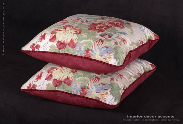 Lee Jofa Italian Camille lampas brocade fabric for elegant and luxurious iterior decor accents