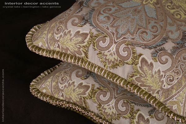Pierre Frey decorative pillows for elegant and luxurious iterior home decor accents
