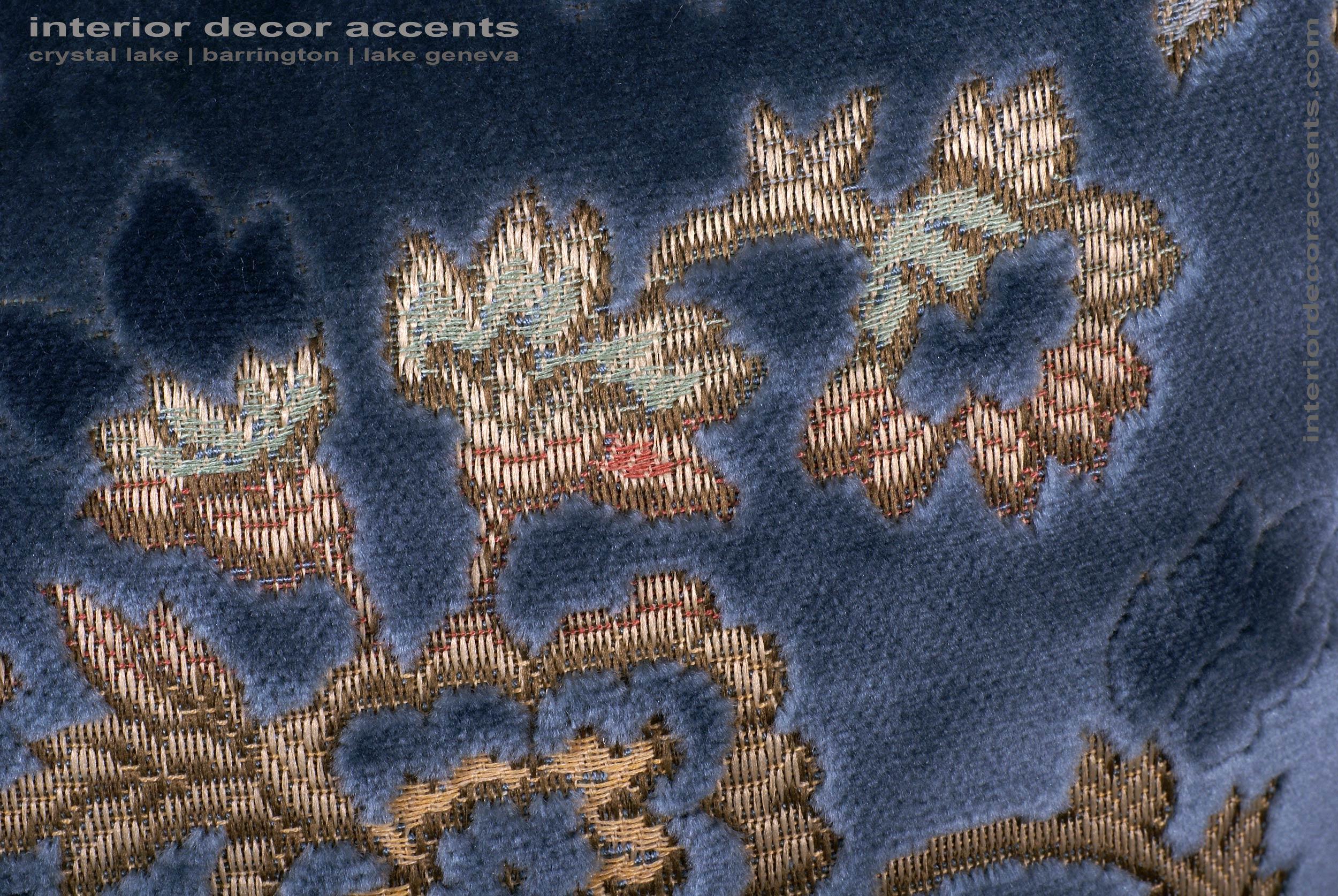 Scalamandre Sculpted Silk Velvet Lee Jofa Elegant Accent